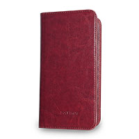 Polytron Leather Case Universal - Red
