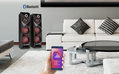 Fitur Polytron POLYTRON Active Speaker PAS 8C28 Bluetooth + EDR support with Polytron Audio Connect