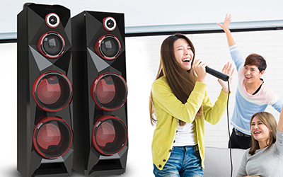 Fitur Polytron POLYTRON Active Speaker PAS 8C28 Video Out