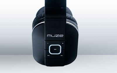 Fitur Polytron MUZE Bluetooth Headphone ZB1 White Dedicated Button