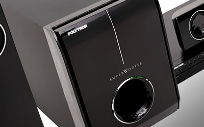 Fitur Polytron POLYTRON Home Theater PHT 138C Powerful Output