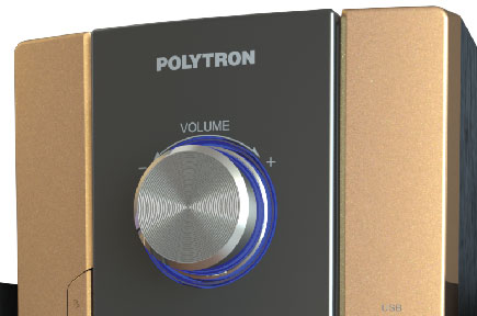 Fitur Polytron Polytron Multimedia Audio PMA 9300 White DIGITAL FM RADIO