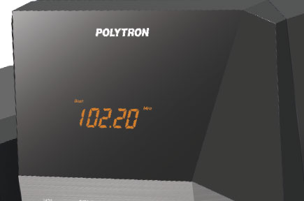 Fitur Polytron POLYTRON Multimedia Speaker PMA 9300 - Black DIGITAL FM RADIO