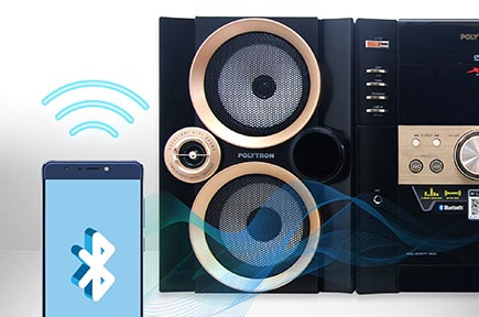 Fitur Polytron POLYTRON Xcel Hifi XL 2910 Bluetooth Connection