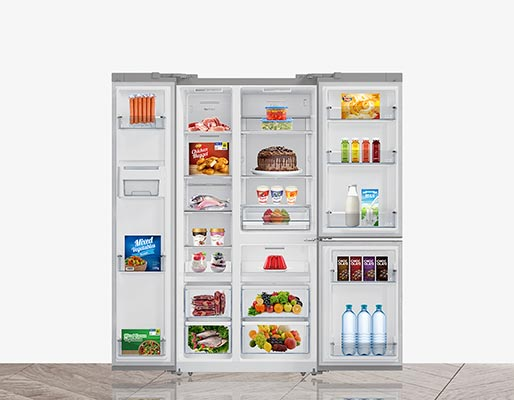 Fitur Polytron POLYTRON New Belleza Inverter Side-by-side Refrigerator 550 Litres PRS 550T Deodorizer
