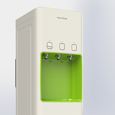Fitur Polytron Hydra Water Dispenser Black LED Button
