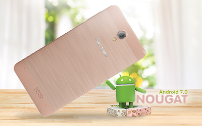 Fitur Polytron Rocket R2509 (T6) Rose Gold  Android 7.0 Nougat with FIRAOS