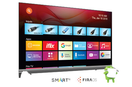 Fitur Polytron 4K Smart Ultra HD 65 Smart TV
