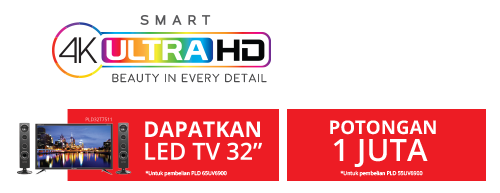 promo 4K ultra HD TV